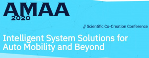 AMAA 2020 - Intelligent System Solutions for Auto Mobility and Beyond